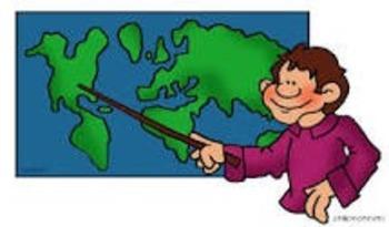 Vocabulario  de Geografia