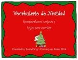 Vocabulario de Navidad - Christmas Vocabulary