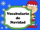 Vocabulario de Navidad PowerPoint