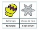 Vocabulario de enero / January Vocab Matching Spanish
