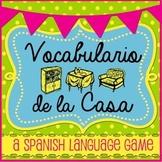 Vocabulario de la Casa - Spanish Language Game