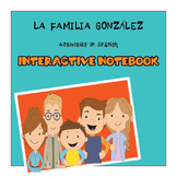 Vocabulario de la Familia/ Family Vocabulary/interactive Notebook