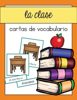 Vocabulario de la clase / Classroom Vocab Matching Spanish