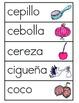 Vocabulario de la letra C