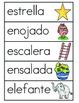 Vocabulario de la letra E