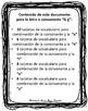 Vocabulario de la letra Gg consonante G g Bilingual Stars