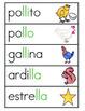 Vocabulario de la letra Ll