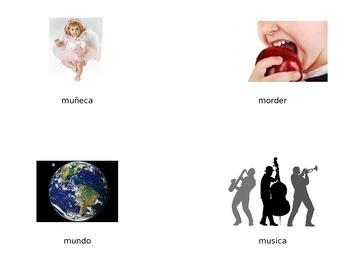 Vocabulario de la letra Mm