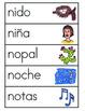 Vocabulario de la letra N