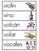 Vocabulario de la letra V