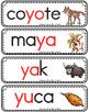 Vocabulario de la letra Yy consonante Y y Bilingual Stars