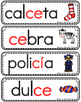 Vocabulario de la letra consonante Cc  C c Bilingual Stars Mrs. Partida
