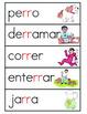 Vocabulario de la letra rr