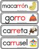 Vocabulario de la letra rr consonante RR rr Bilingual Stars Mrs Partida
