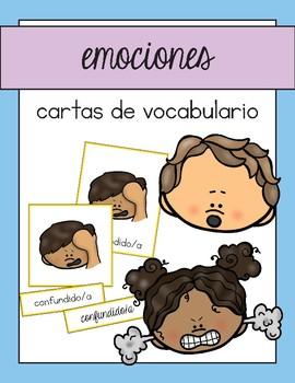 Vocabulario de las emociones / Emotions Vocab Matching Spanish