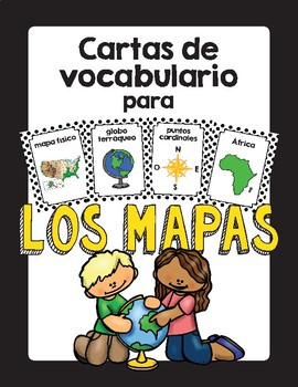 Vocabulario de los mapas (Map Vocabulary)