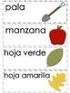 Vocabulario de otoño