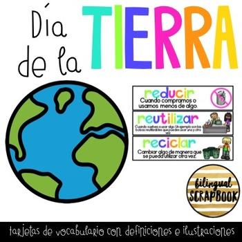 Vocabulario del Dia de la Tierra (Earth Day Vocabulary)