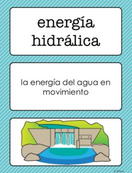 Vocabulario elevar las ciencias Spanish 4th Grade