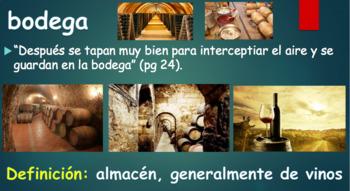 Vocabulario para Como agua de chocolate - Vocabulary