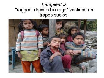 """Los chicos""  Vocabulary PPT por Ana María Matute"