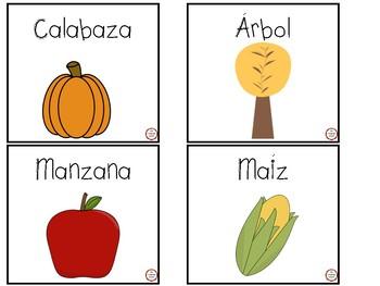 Vocabulario para el otoño