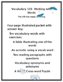 Vocabulary 101: Working with Words