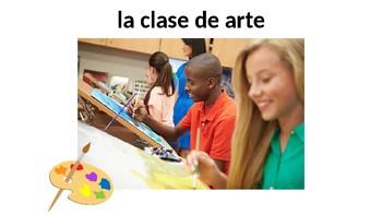 Vocabulary 2A - Tu día en la escuela - Realidades / Auténtico 1 - Classes