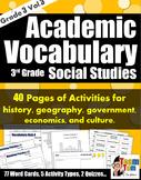 Vocabulary 303 Social Studies