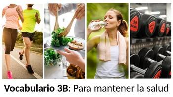 Vocabulary 3B - Para mantener la salud - Realidades 1 / Auténtico 1 - Foods