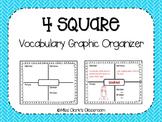 Vocabulary 4 Square
