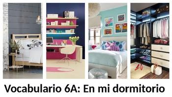 Vocabulary 6A - En mi dormitorio - Realidades 1 / Auténtico 1