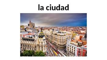 Vocabulary 8A - De vacaciones - Realidades 1 / Auténtico 1