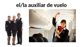 Vocabulary 8A - Un viaje en avión - Realidades 2 - Traveling