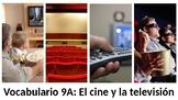 Vocabulary 9A - El cine y la televisión - Realidades 1 / A