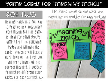 Vocabulary A Day Editable Unit