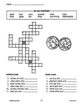 Vocabulary Acquisition: Crossword Puzzles