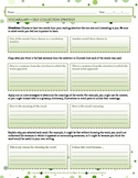 Vocabulary Acquisition Strategy Worksheets