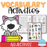 Vocabulary Activities Adjectives