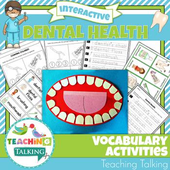 Dental Health Vocabulary Activities