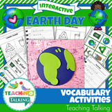 Earth Day  Speech Therapy Vocabulary Activities