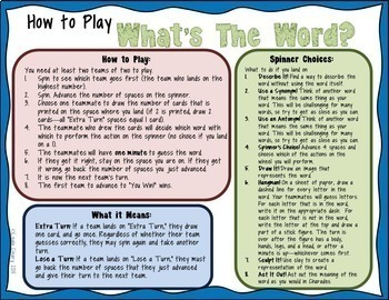 Vocabulary Activities For Any Subject Bundle 1