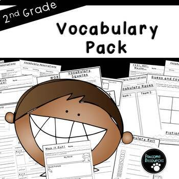 Vocabulary Activities (Games and Graphic Organizers)