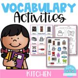 Vocabulary Activities Kitchen