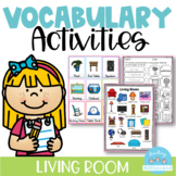 Vocabulary Activities Living Room