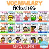 Vocabulary Activities MEGA BUNDLE