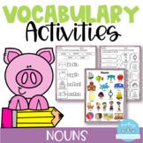 Vocabulary Activities Nouns
