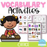 Vocabulary Activities Office
