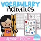 Vocabulary Activities Laundry Room
