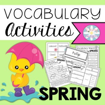 Vocabulary Activities - SPRING